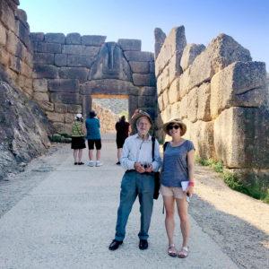 2017 winner_Mycenae_Lenny and Charlotte at Mycenae